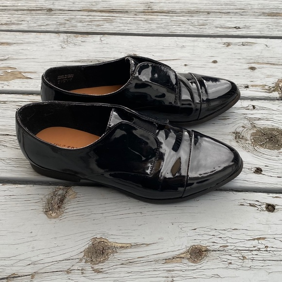 CALL IT SPRING black loafers
